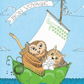 edward lear fairytale poetry nonsense poem owl and the pussycat illustration by Sally Barnett illustrator designer frome bath bristol illustration