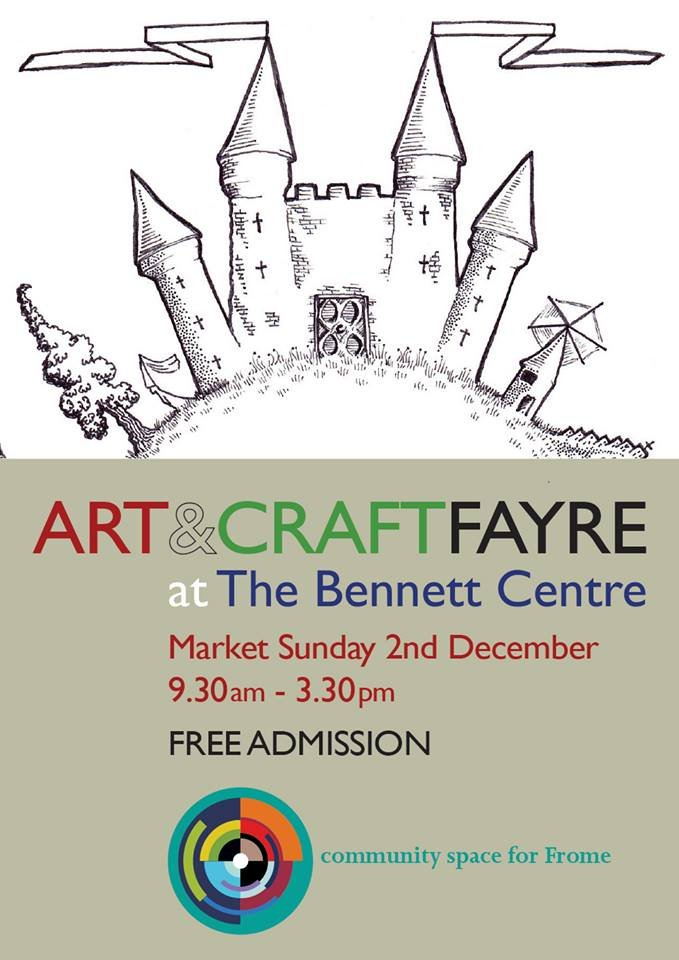 illustration stall christma bennett centre frome sally barnett illustrator frome bath bristol illustration
